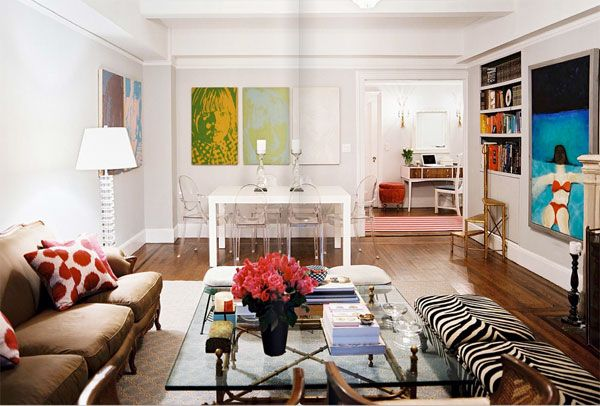 colorful living room design 10 Cool Living Room Design Ideas