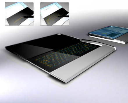 compenion concept 2 Top 10 Futuristic Concept Laptops