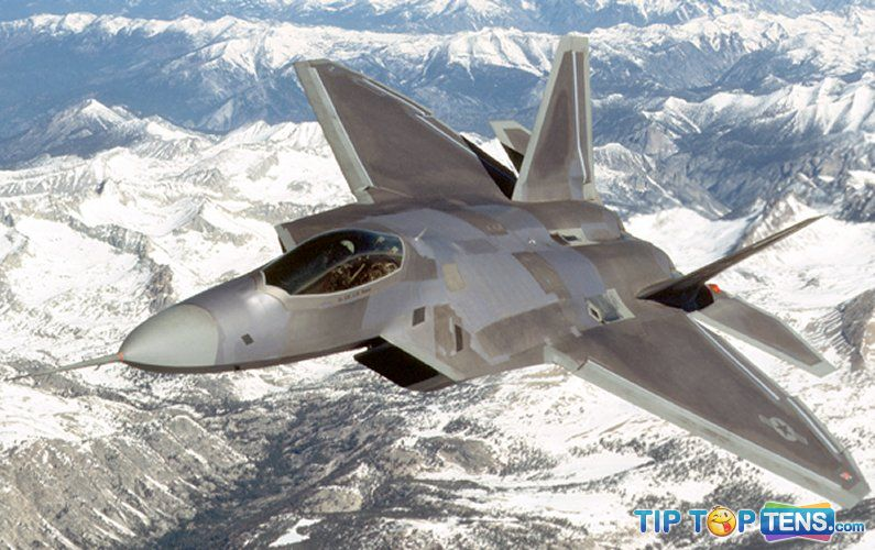 f 22 Top 10 Best Fifth Generation Fighter Aircraft Projects