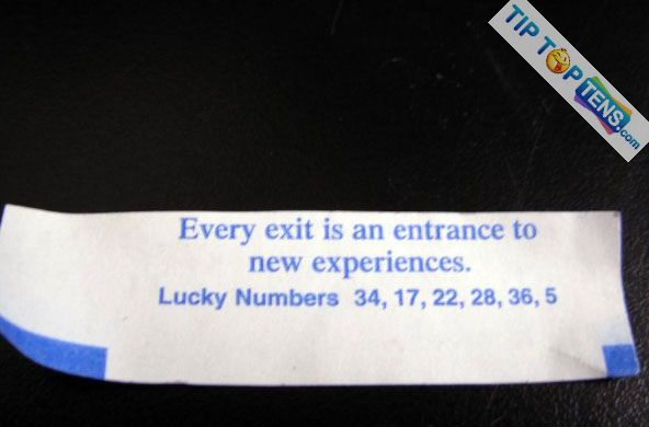 funny fortune cookies 3 10 Most Funny Fortune Cookies
