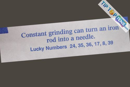 funny fortune cookies 8 10 Most Funny Fortune Cookies