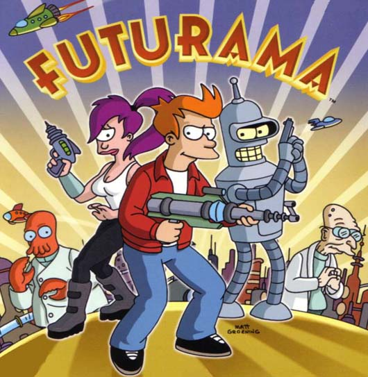 futurama Top 10 Best Cartoon Series of All Time