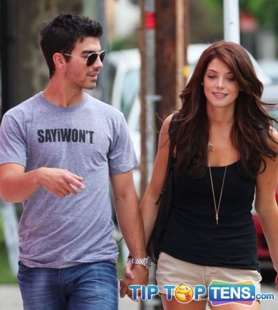 joe and ashley Top 10 Hottest Celebrity Couples