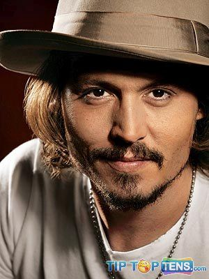 johnny depp Top 10 Richest Male Actors in The World  2011