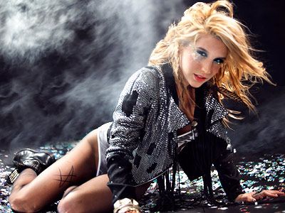 kesha Top 10 Most Popular Female Singers in 2011
