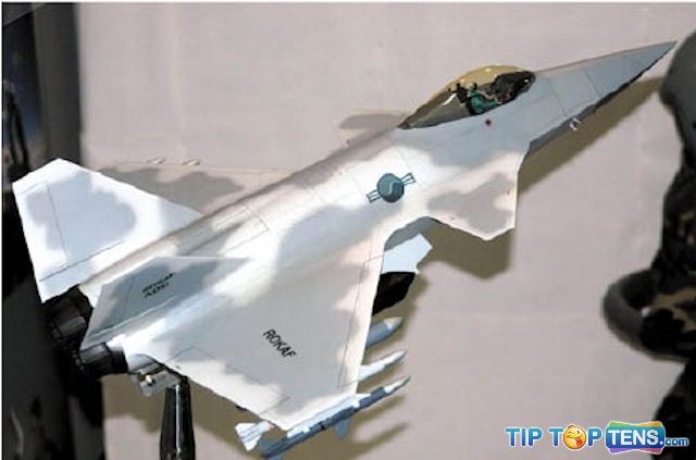 kf x Top 10 Best Fifth Generation Fighter Aircraft Projects