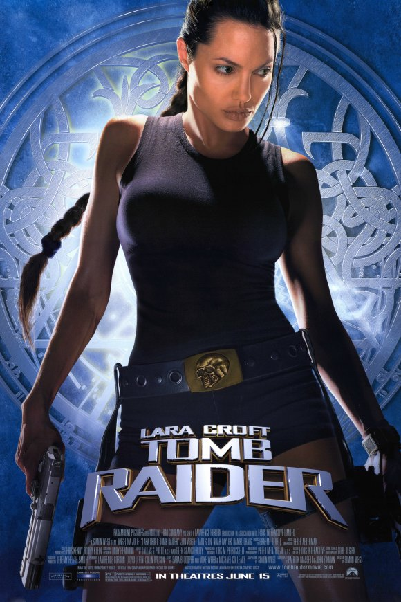 lara croft tomb raider 2001 Top 10 Best Movies by Angelina Jolie