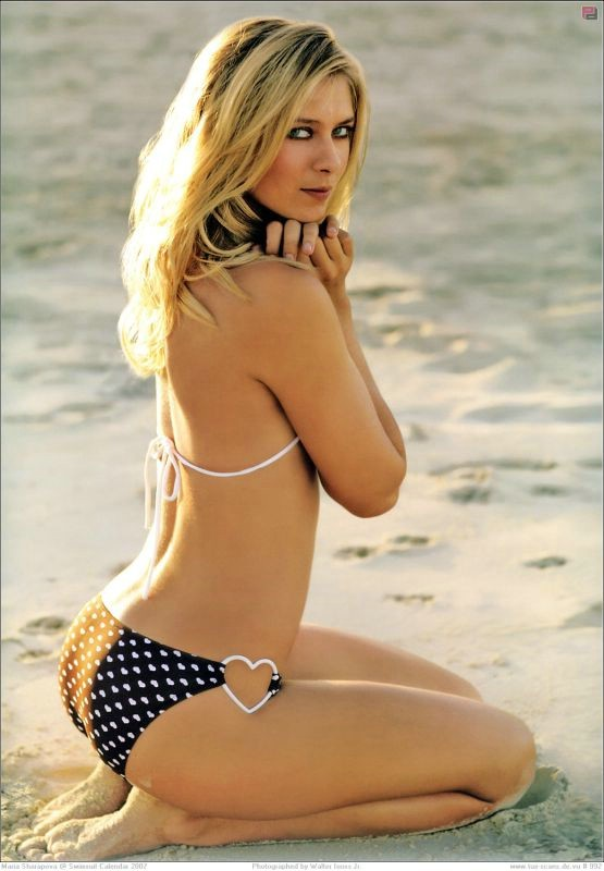 maria sharapova Top 10 Hot Russian Models