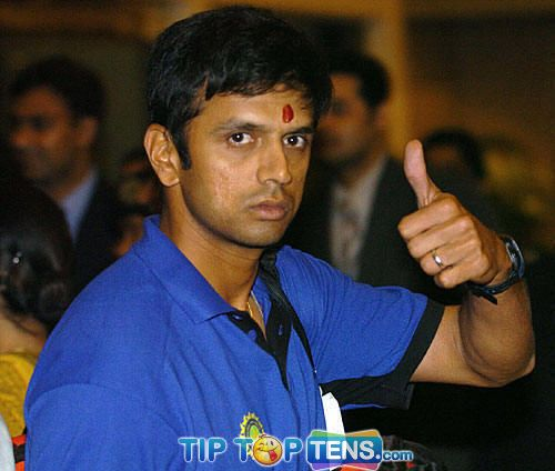 rahul dravid Top 10 Highest Paid Cricketers