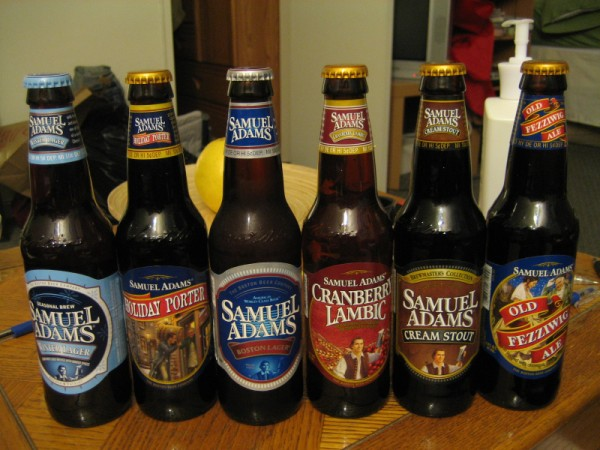 beer Sam Adams beer