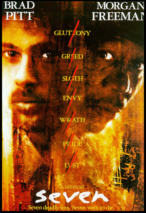 seven movie se7en Top 10 Best Movies by Brad Pitt