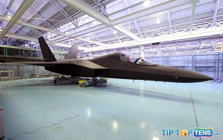shinshin atd x Top 10 Best Fifth Generation Fighter Aircraft Projects