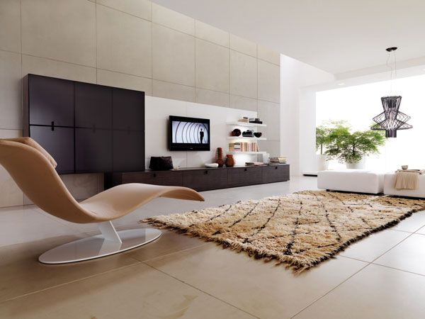 spacious living room 10 Cool Living Room Design Ideas