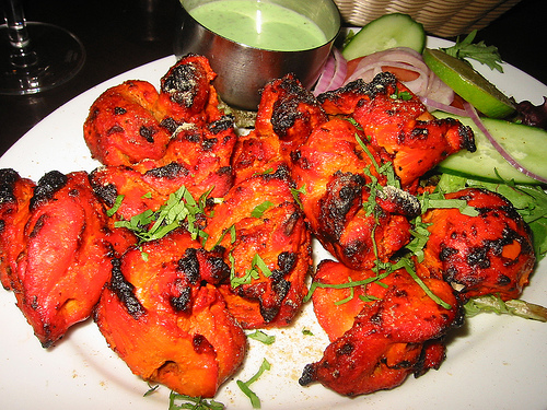 tandoori chicken Top 10 Most Popular Food Items