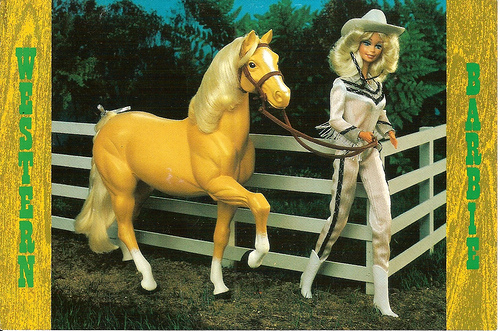 western barbie Top 10 Most Famous Barbie Dolls in History