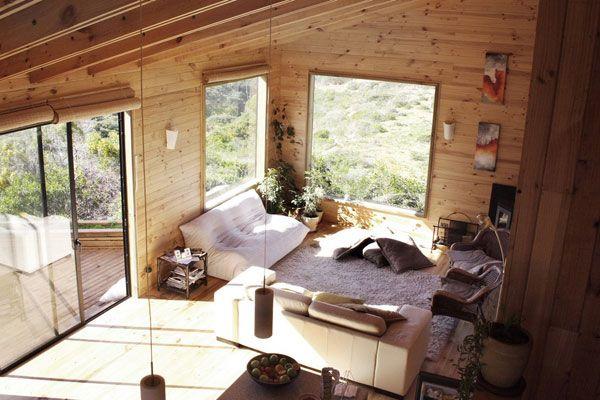 wooden living room 10 Cool Living Room Design Ideas