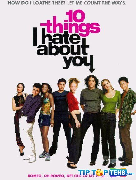 10 things i hate about you Top 10 Most Romantic Movies Of All Time