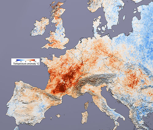 2003 European heat wave 10 Worst Natural Disasters of 21st Century