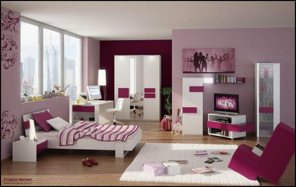 3D Teen Room by FEG A1 10 Unique Girl Bedrooms Design Ideas