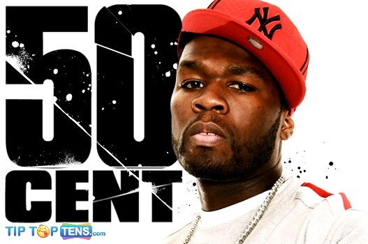50 cent Top 10 Best Rappers Ever
