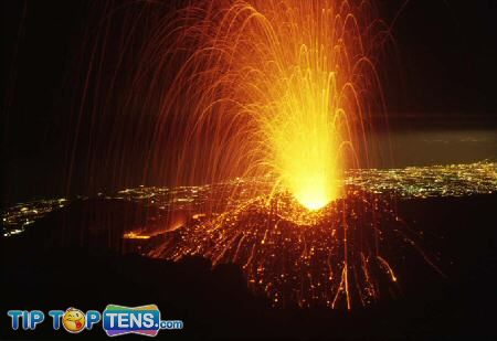 Mount Etna 10 Most Dangerous & Biggest Volcanoes In The World