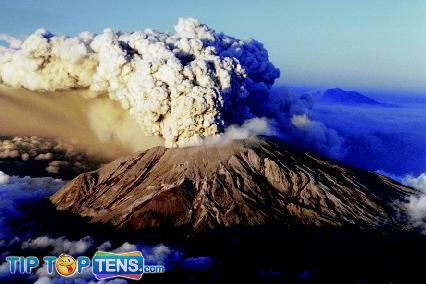 Mount St. Helens 10 Most Dangerous & Biggest Volcanoes In The World
