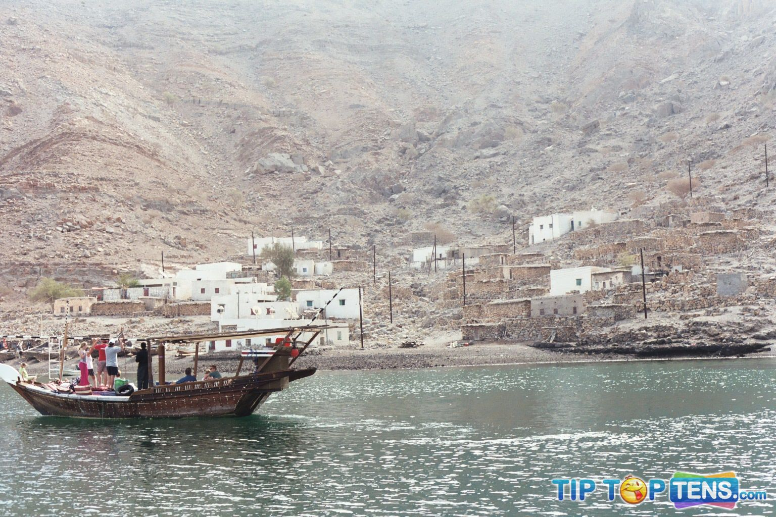 Musandam fjord Top 10 Arab Places to Visit When You Go to Dubai