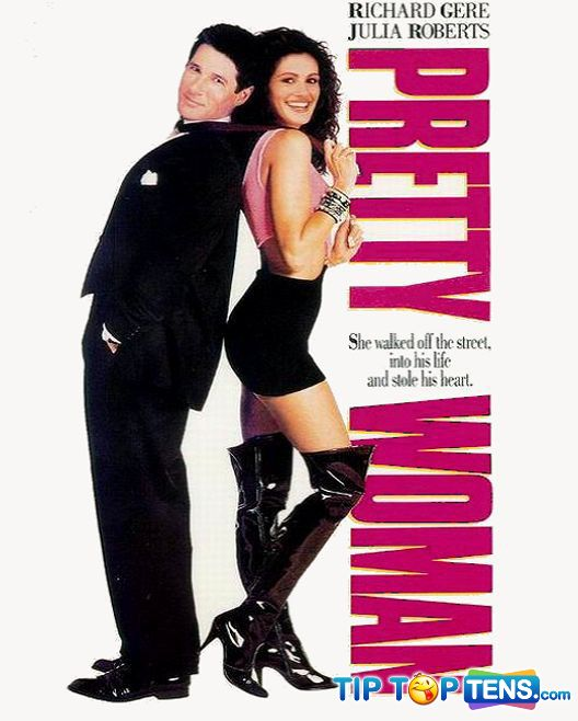 Pretty woman Top 10 Most Romantic Movies Of All Time