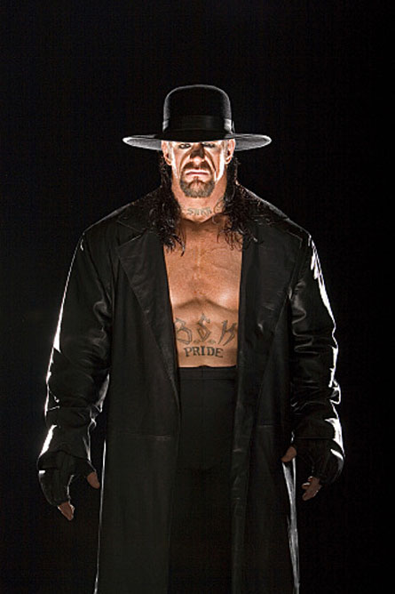 The Undertaker Top 10 of the Best Wrestlers of WWE In 2011