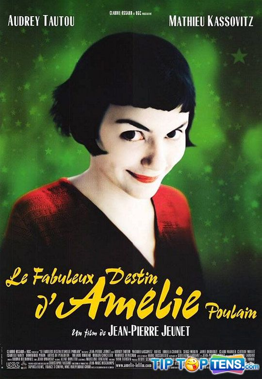 amelie Top 10 Most Romantic Movies Of All Time
