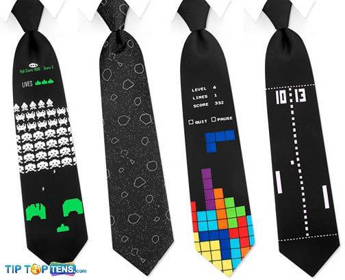 arcade game ties 10 Most Funny and Strangest Neckties