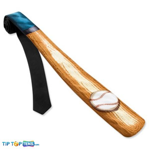 baseball tie 10 Most Funny and Strangest Neckties