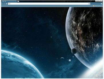 chrome space theme 10 Most Stunning Google Chrome Themes   2011