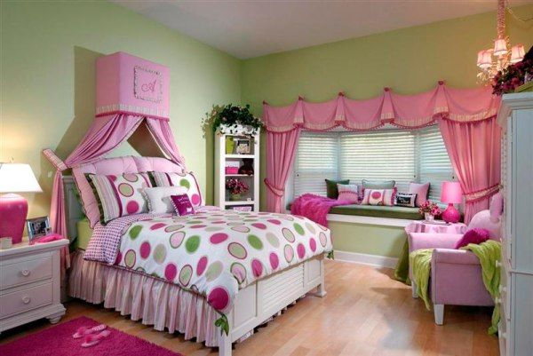 dec den girls room1 10 Unique Girl Bedrooms Design Ideas