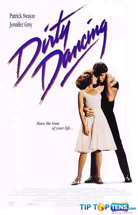 dirty dancing Top 10 Most Romantic Movies Of All Time