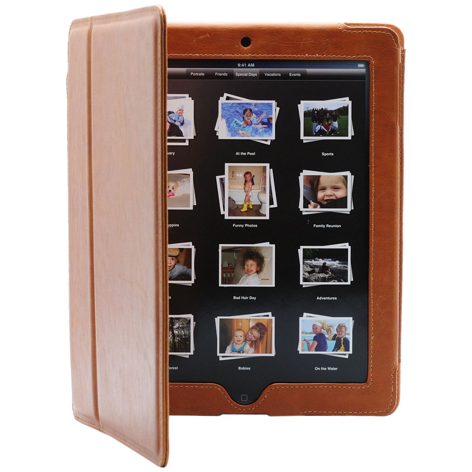 icon brown book case 10 Best Apple iPad 2 Covers & Cases