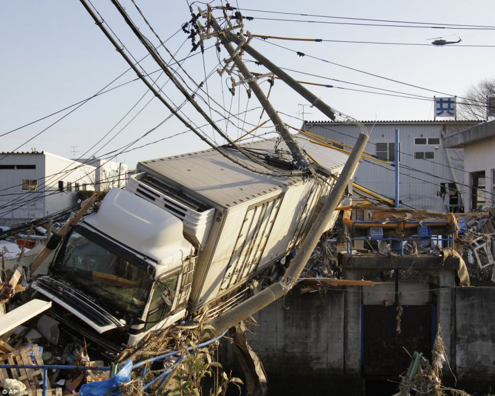 japan flood photos 2011 7 10 Japan Earthquake Pictures – Tsunami Flood Photos – 2011