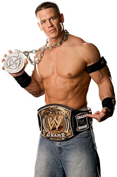 john cena Top 10 of the Best Wrestlers of WWE In 2011