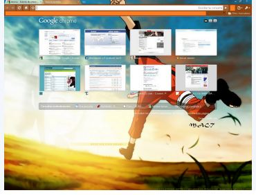 naruto chrome theme 10 Most Stunning Google Chrome Themes   2011