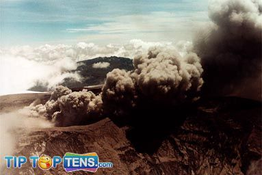 nevada del Ruiz 10 Most Dangerous & Biggest Volcanoes In The World