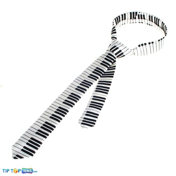 piano tie 10 Most Funny and Strangest Neckties