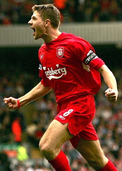 steven gerrard Top 10 Best Soccer Players In The World