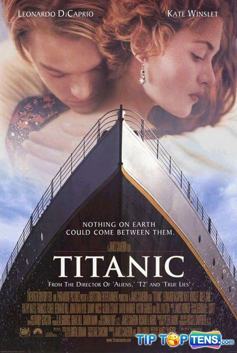 titanic Top 10 Most Romantic Movies Of All Time