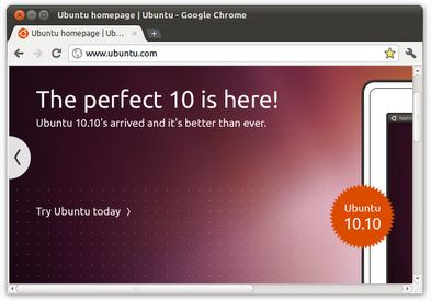 ubuntu google chrome theme 10 Most Stunning Google Chrome Themes   2011