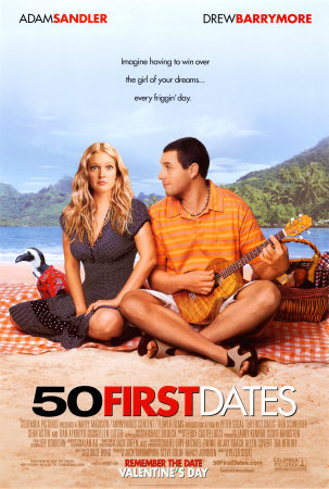 50 first dates 10 Best Adam Sandler Movies Ever
