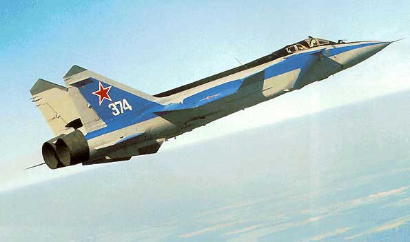 9 MiG 31 FoxHound 10 Fastest Jet Aircraft In The World