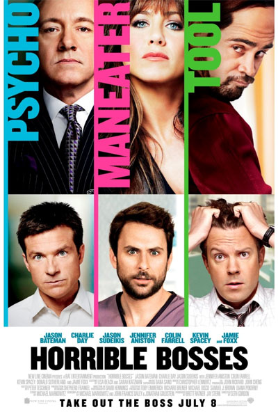 Horrible Bosses cover Top 10 Most Funny Movies in 2011   2012