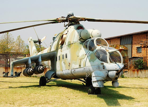 MI 24 Hind 10 Most Efficient Military Helicopters