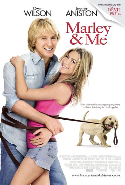 Marley and me 10 Best Jennifer Aniston Movies Ever