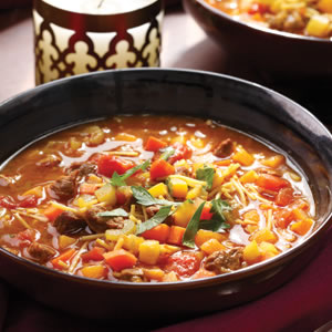 Moroccan Vegetable Soup Chorba 10 Healthy & Delicious Vegetarian Dishes